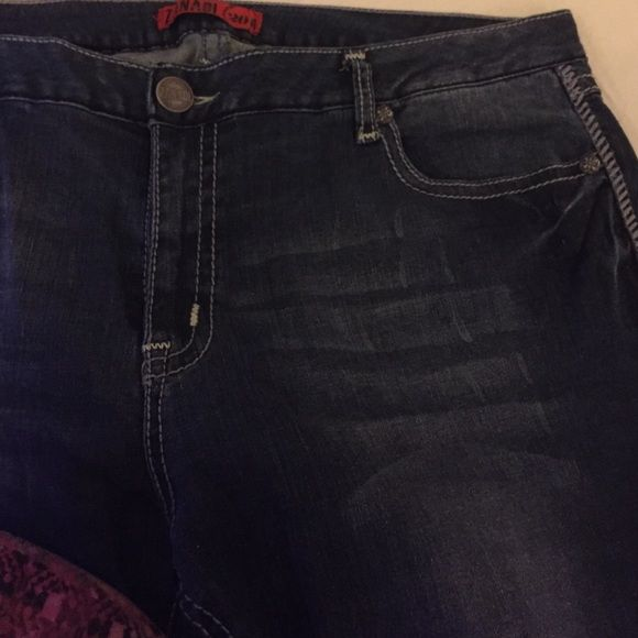 Zanadi Plus size Jeans size 20 Sexy plus size jeans 20 w  nice and perfect for the curvy woman gently used Zanadi Jeans Boot Cut