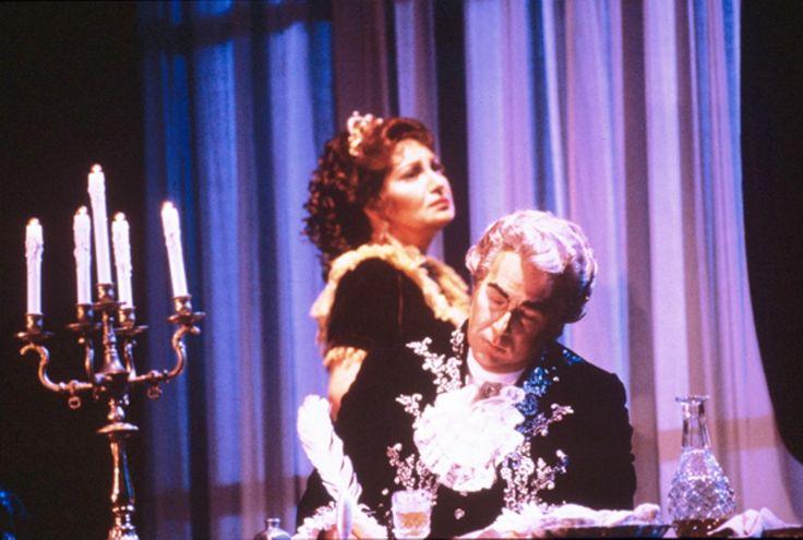 Great Romanian soprano Maria Slatinaru Nistor & -James Morris -Tosca- San Francisco Opera 1985