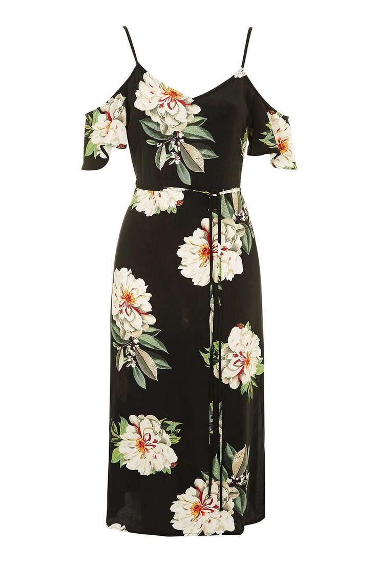 Floral Cold Shoulder Dress - New In This Week - New In - Topshop