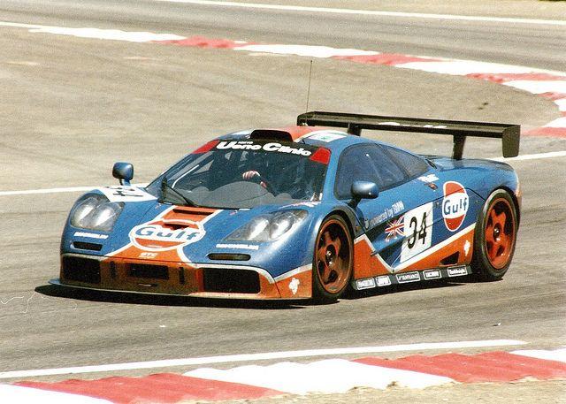 McLaren F1 GTR  #34 Gulf / GTC  Le Mans '96