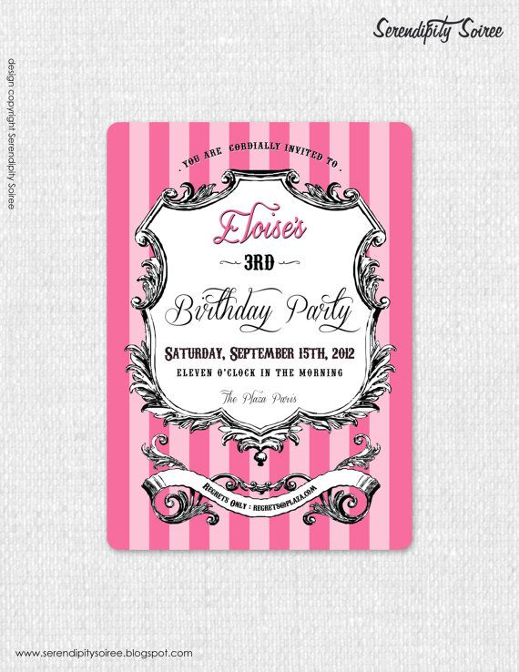 328 best birthday invitations adult images on pinterest birthday luxury paris hotel custom printable by serendipity soiree catherine joy eloise adult version custom request birthday invitations filmwisefo