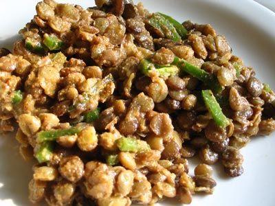 Ethiopian Lentil & Mustard Salad (Azefa) | Lisa's Kitchen | Vegetarian Recipes | Cooking Hints | Food & Nutrition Articles