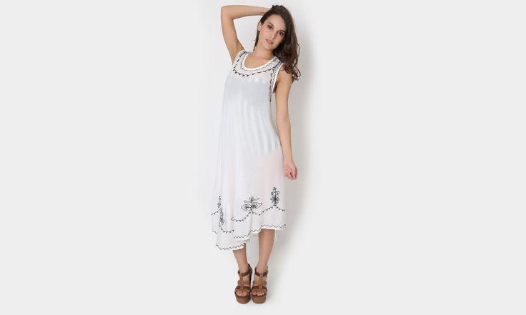 #beach #beachstyle #beachwear #summer #dress #colors #flores #playa #fashion #moda #mexicana https://www.facebook.com/peccatumbysolperea