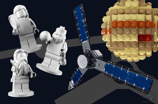Lego Minifigures on NASA's Juno Jupiter Probe Inspire Design Challenge.