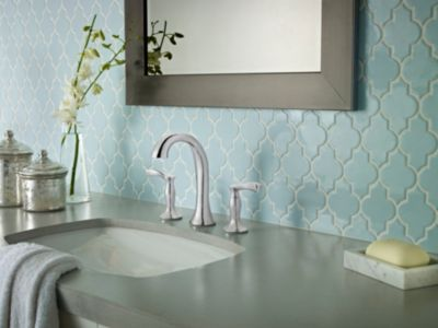 Stylish Tiles | Pfister Faucets > I love the faucet and the backsplash