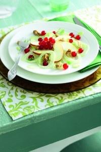 Recept - Venkelsalade met rode appel en aalbessen - Boodschappen - met Zonnigfruit