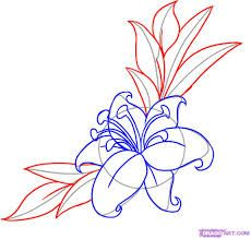 Image result for easy flowers drawings step by step