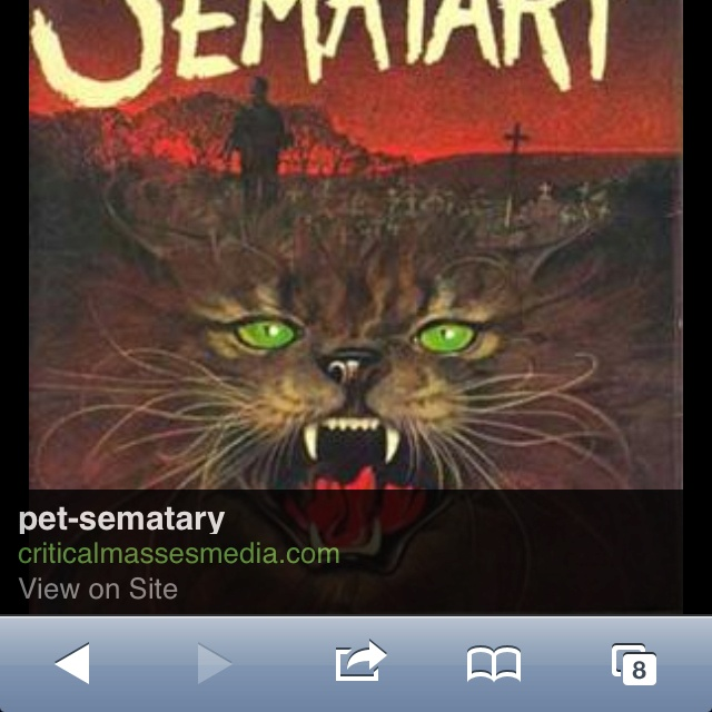 Pet Sematery The Scariest Book Ever Scary Books Horror Books