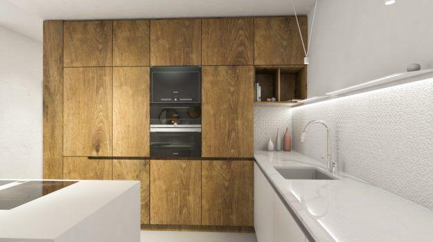 Interiér bytu v Slnečniciach / Interior of a flat in Slnečnice housing complex