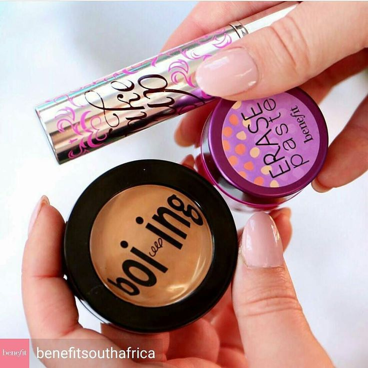 @Regrann from @benefitsouthafrica -  Fake it till you make it with these concealers . Get 50% OFF a concealer when you purchase any Benefit foundation . Get shopping gorgeous! #BenefitSA