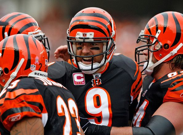 Cincinnati Bengals. Carson Palmer brought hope after a very long dry spell.