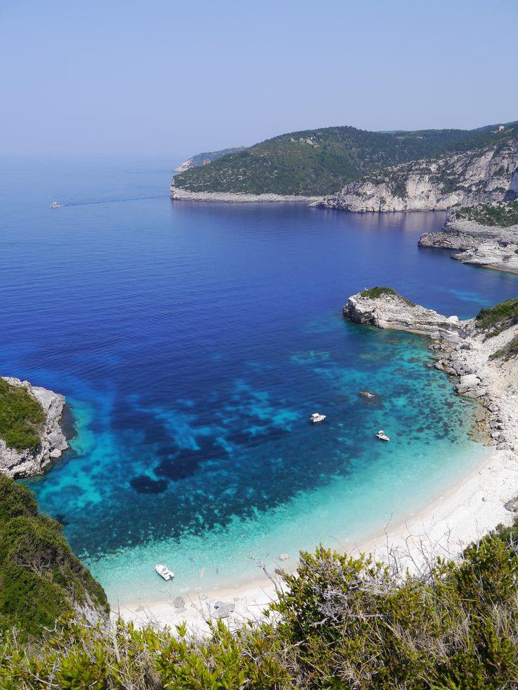 Galazio Bay, Paxos island, Greece ✯ ωнιмѕу ѕαη∂у