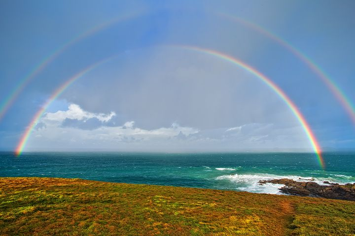 Woolgoolga Headlad Double Rainbow