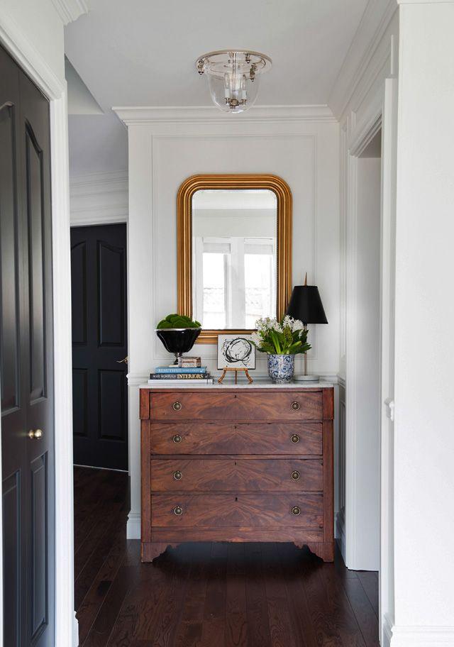 1000 ideas about foyer table decor on pinterest front - Decorar una entrada estrecha ...