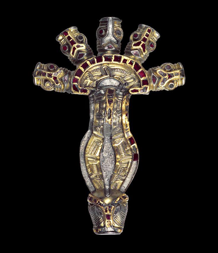 Museo Archeologico Nazionale di Cividale del Friuli. Fibula a staffa. Bow brooch,