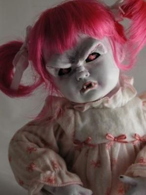 The Vampire Database - Porcelain Vampire Doll - Vampire Rave.