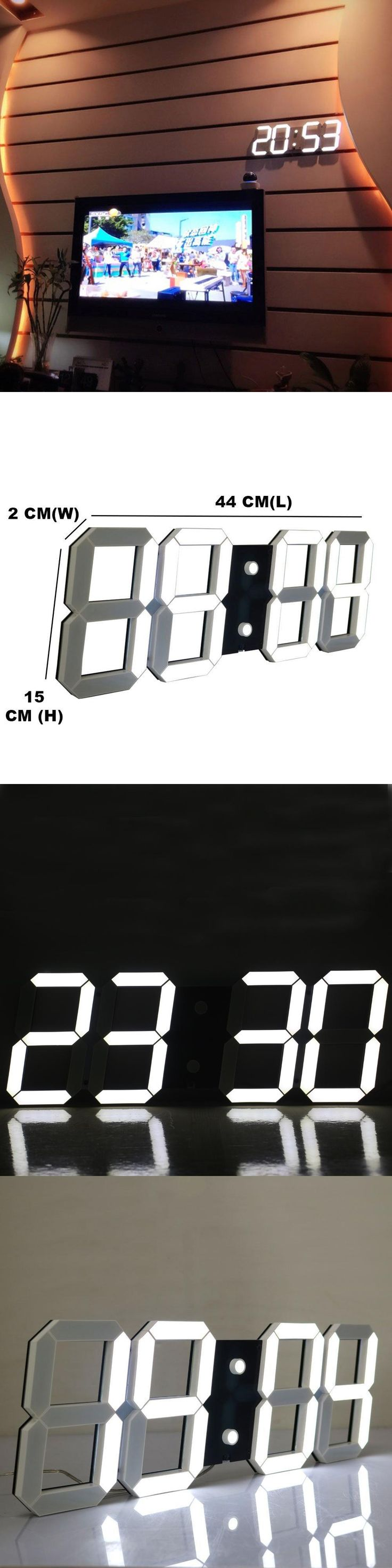 Best 25 countdown clock timer ideas on pinterest stopwatch led digital wall clock large led display remote control countdown count up timer with calendar date amipublicfo Choice Image
