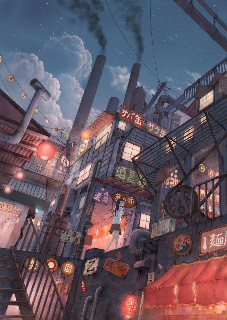 Factory Cola Gotouryouta Iphone wallpaper japan