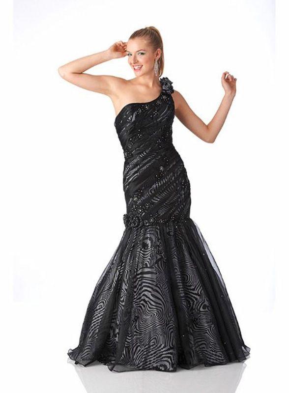 Astra Formal - Karishma 3394 | Size 16 Black over White