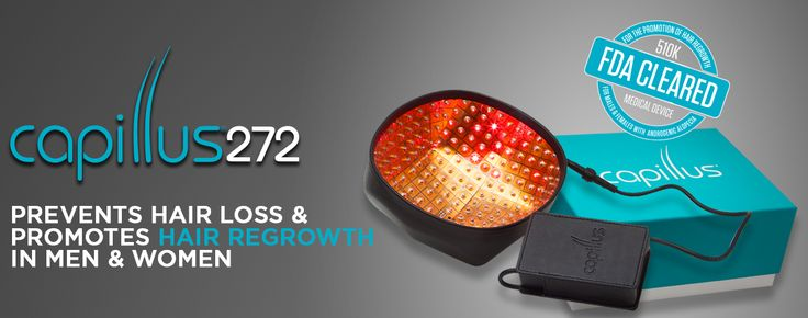 The Capillus272 Laser Hair Therapy cap for thicker hair from the comfort of your own home!