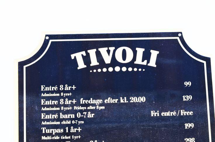 Let's go to the Tivoli! Copenhagen