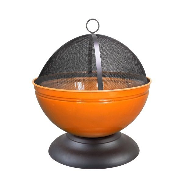 La Hacienda do a hybrid heater/grill in this globe firepit. Available in great pops of colour, this will warn off the UK summer chills when they appear. | £76.49