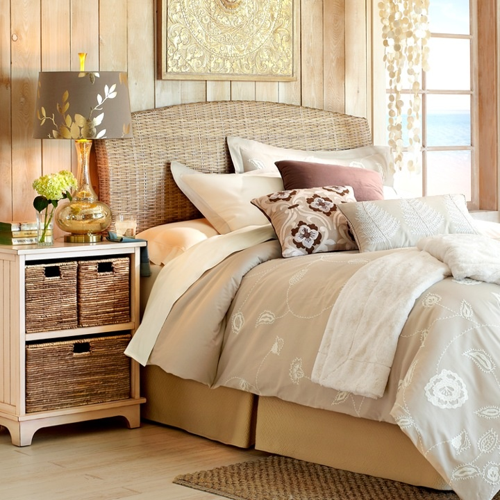 Kubu Headboards   rattan and wood is always a good choice  looks vacation    resorty109 best Pier 1 images on Pinterest   Pier 1 imports  For the home  . Pier 1 Rattan Bedroom Set. Home Design Ideas