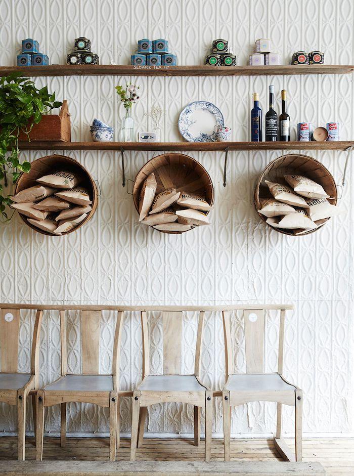design | maman cafe, new york