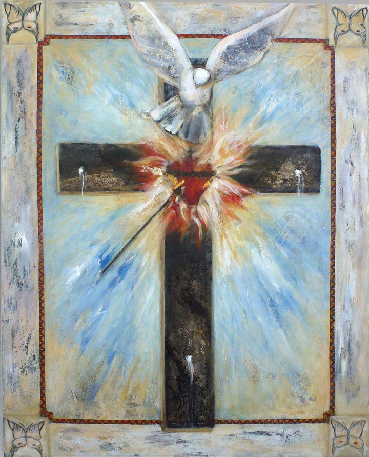 Cruz del Apostolado Señor aumenta nuestra Fe!