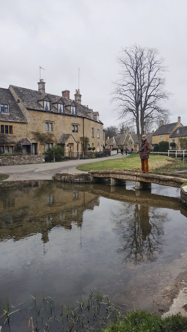 Lower Slaughter, the most charming village in the beautiful and picturesque Cotswolds