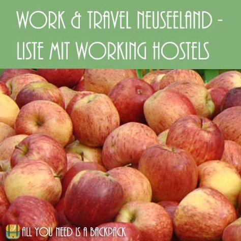 Du möchtest gern in Neuseeland reisen und arbeiten? Fruitpicking? Working Hostels helfen dir dabei Jobs zu finden. Wo du diese findest, erfährst du hier!