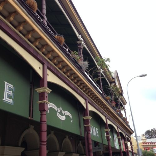 Fremantle's terraced buildings in the West End.