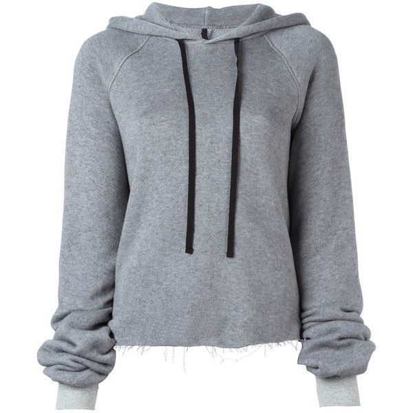 Unravel Oversized Hoodie - Grey & Pink (6.405 ARS) ❤ liked on Polyvore featuring tops, hoodies, sweaters, kirna zabete, hooded pullover, cotton hooded sweatshirt, grey hoodies, pink hoodies and pink hooded sweatshirt