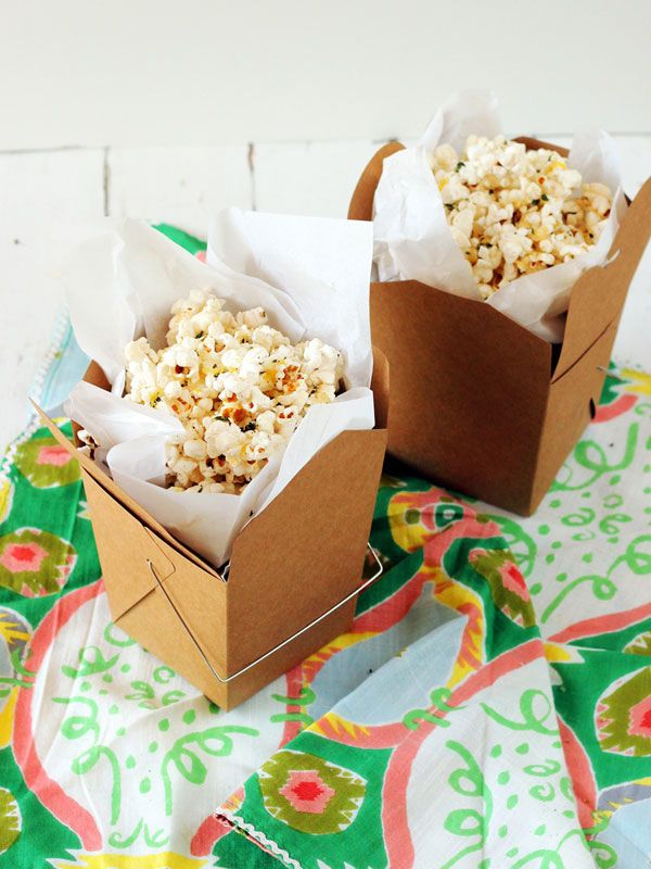 Herb & Lemon Buttered Popcorn Recipe — Dishmaps
