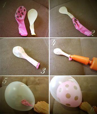 Aprender Brincando: Decoração para a Festa do Dia das Mães com balões!!!