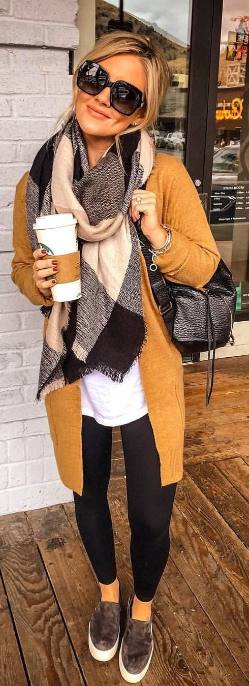 fall and winter outfit idea