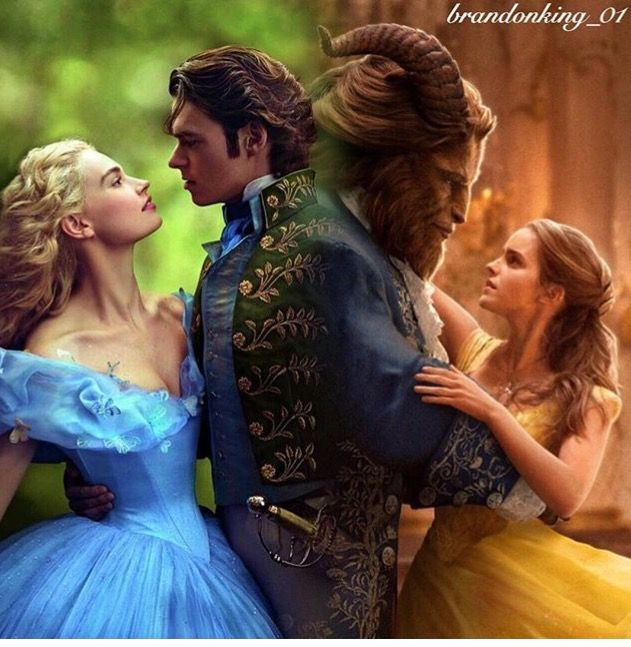 Cinderella, Beauty and the Beast