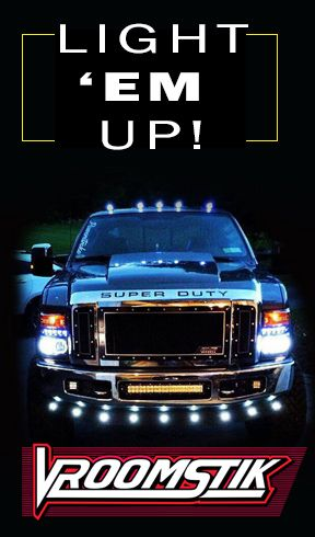 Our Truck Accessories LED tail lights, projector ...
