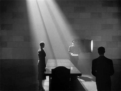 """Citizen Kane"" Gregg Toland (film/cinematography) - the use of lighting in this photograph to set the scene and to highlight on a specific subject is what initially captured my attention. The silhouettes in the scene add to that sense of mystery. I want to incorporate this use of singular ray of light to emphasize on a specific subject  in one of my photographs."