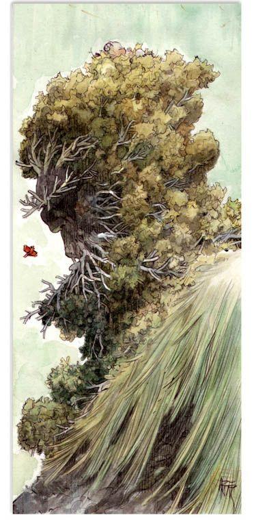 MAN ARENAS Illustration originale de Yaxin le faune Gabriel