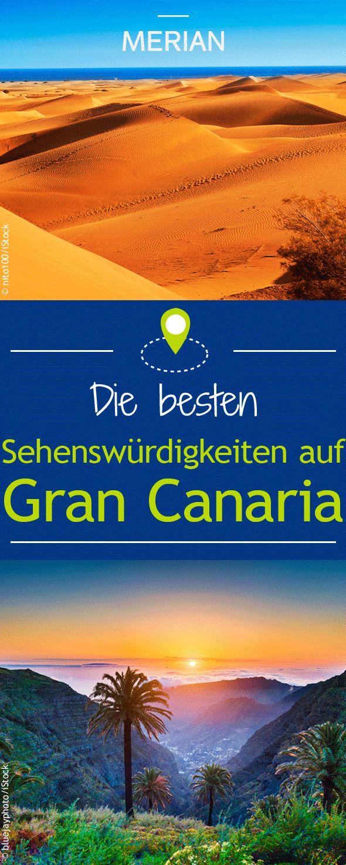 Diese 10 Sehenswürdigkeiten solltet ihr euch bei eurem Urlaub auf Gran Canaria nicht entgehen lassen. Hier geht's zu unseren Highlights der Kanarischen Insel!