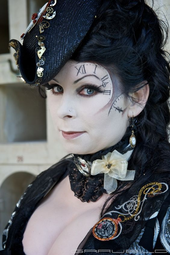 Beautiful Steampunk Lady In Stunning Make Up Find This Pin And More On Inspiration