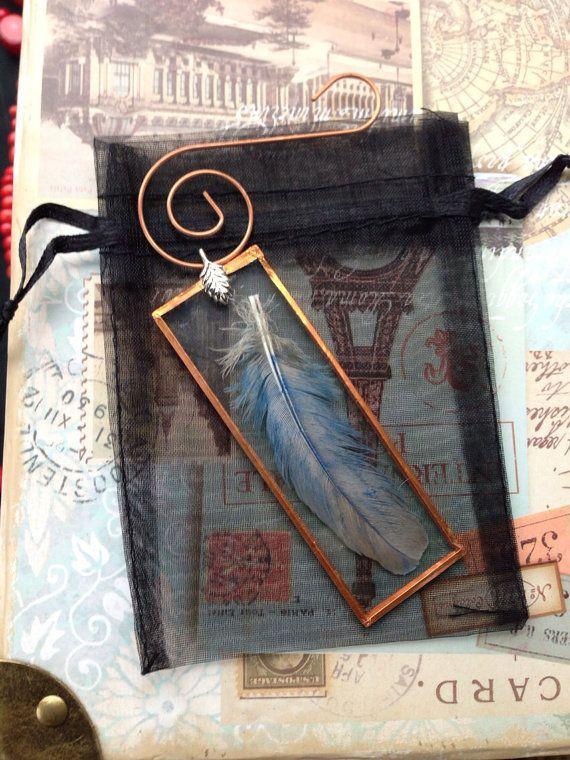 Handmade artisan microscope slide ornament