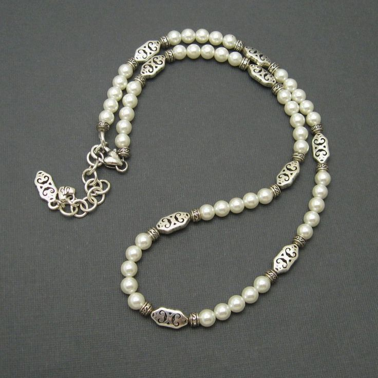 Long Pearl Necklace Brighton Jewelry