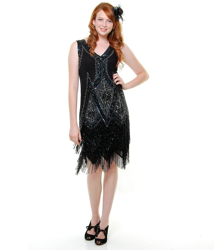 plus flapper dress of sui