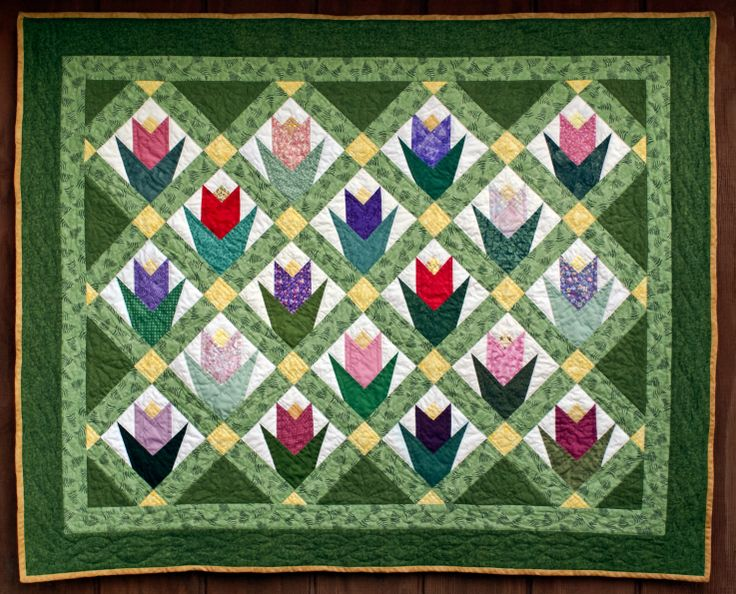 17 Best Images About Tulip Quilts On Pinterest Stained
