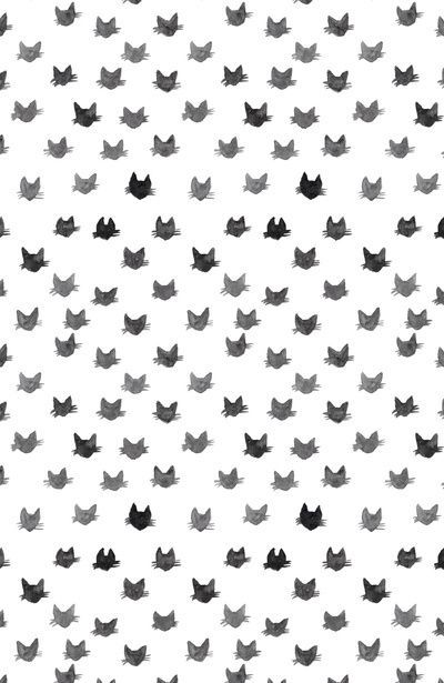 iPhone or Android Kitty Cat background wallpaper selected by ModeMusthaves.com
