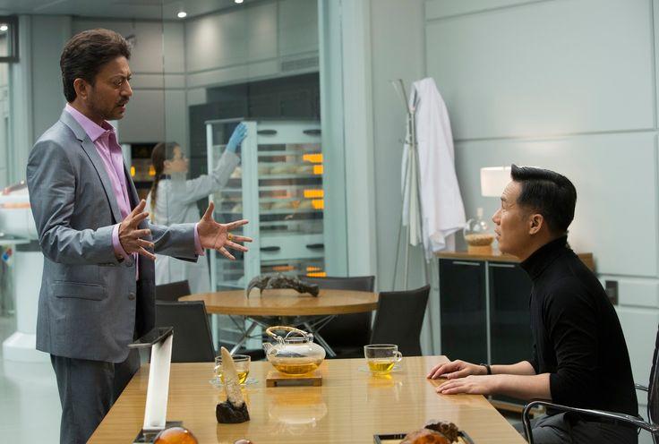 BD Wong and Irrfan Khan in Jurassic World