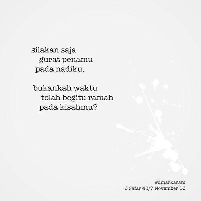 WEBSTA @ dinarkarani - Silakan saja. .Bebas..#gugatdiri#haiku#haiga#babakbaru#penjamahkata#kopidanpuisi#puisipendek#puisi#syair#sajak#sastraindonesia#tulisanbebas#words#poetsofig#dinarkarani#tebakcoba