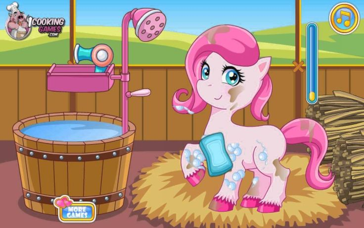 Pony Doctor Game— GAMES FOR KIDS